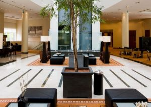 FF&E en OS&E hotel project Crowne Plaza Brussels Airport