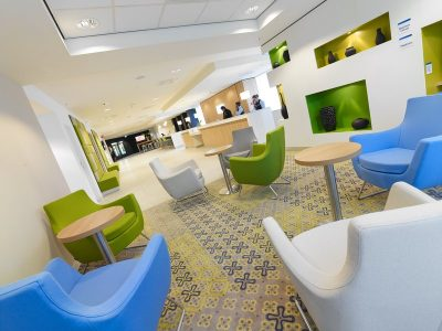 Hotel project management: Holiday Inn Express Arena Towers Amsterdam Zuid-Oost