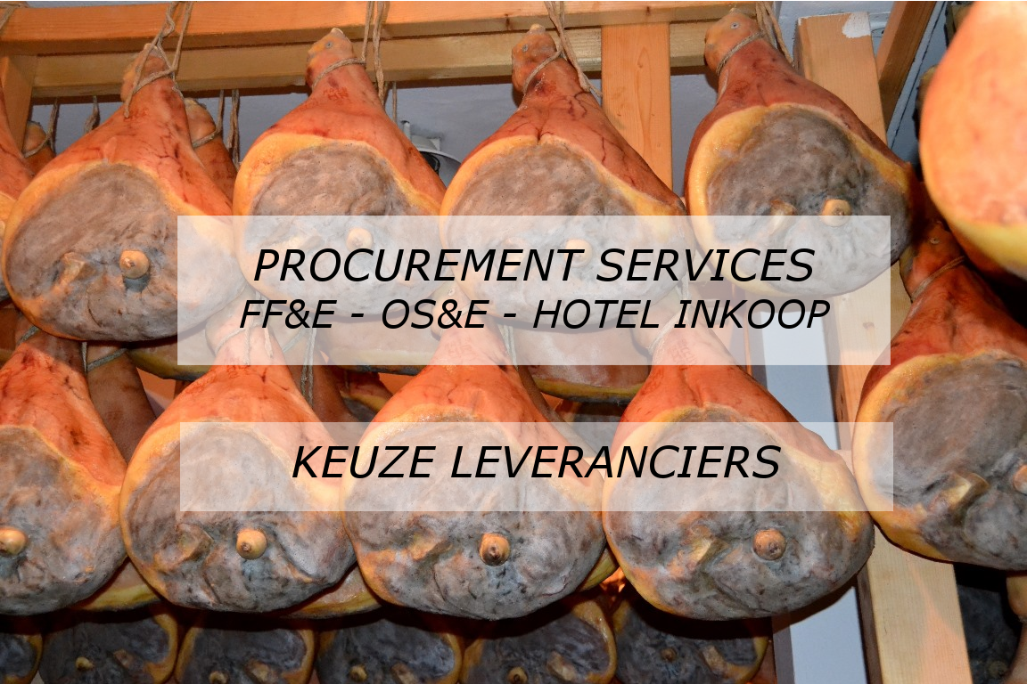 FF&E OS&E Procurement services door JAWEL Hospitality project services